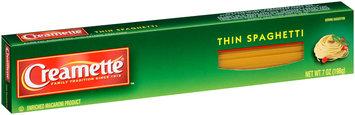 Creamette® Thin Spaghetti Pasta 7 oz. Box