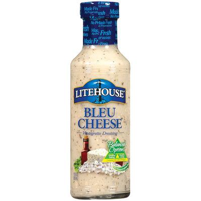 Litehouse Bleu Cheese Vinaigrette Dressing 12 Fl Oz Bottle