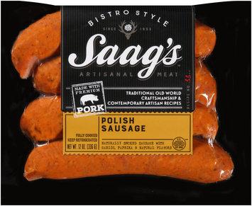 Saag's™ Bistro Style Polish Sausage 12 oz. Package