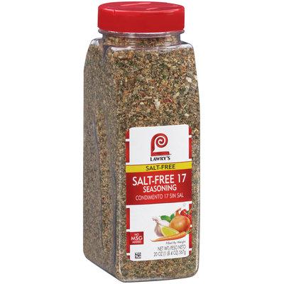 Lawry's® Salt Free 17 Seasoning 20 oz. Bottle