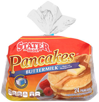 Stater Bros.® Buttermilk Pancakes 24 ct. Bag