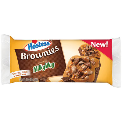 Hostess® Brownies Made with Milky Way® 3.03 oz. Pack