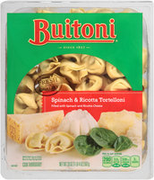 BUITONI refrigerated Spinach and Ricotta Tortelloni 20 oz. Tray