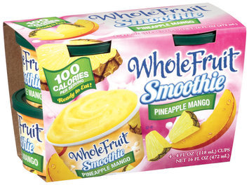 Whole Fruit® Frozen Smoothie Pineapple Mango 4 - 4 oz cups