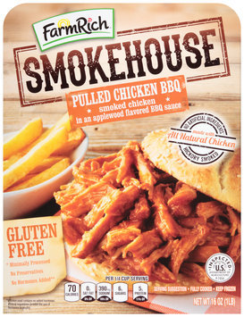 Farm Rich® Smokehouse Pulled Chicken BBQ 16 oz. Box