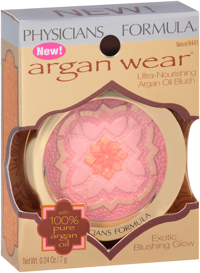 Physicians Formula® Argan Wear™ 6441 Ultra-Nourishing Argan Oil Blush 0.24 oz. Box