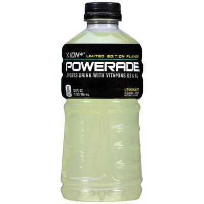 Powerade® ION4® Lemonade Sports Drink 32 fl. oz. Bottle