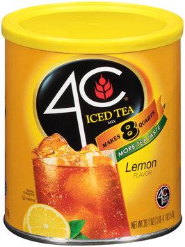 4C® Lemon Iced Tea Mix 20.1 oz. Canister