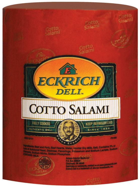 Eckrich Cotto Salami Deli - Loaves