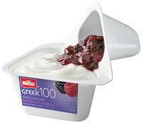 Muller® Greek 100 Blackberry & Raspberry Nonfat Yogurt