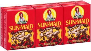 Sun-Maid® Dark Chocolate Yogurt Raisins 6-1 oz. Boxes