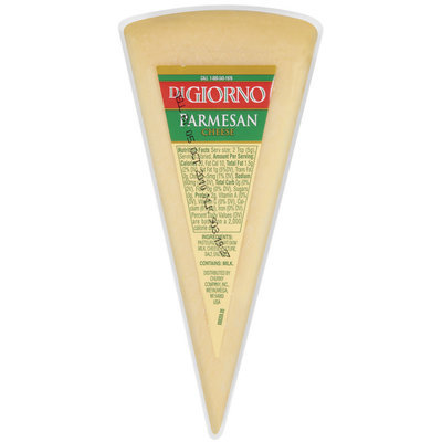 DiGiorno Parmesan Hicut Rw 8-12 Oz Cheese   Wedge