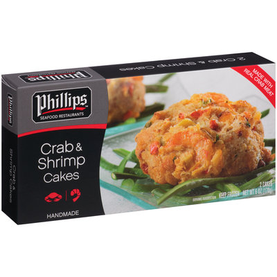 Phillips™ Crab & Shrimp Cakes 2 ct Box