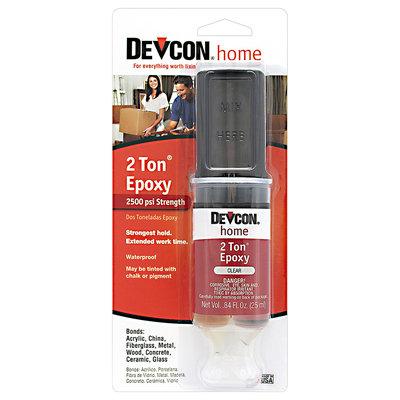Devcon® Home 2 Ton® Epoxy 0.84 fl. oz. Syringe