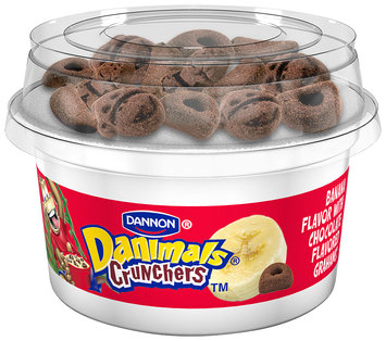NEW Danimals Crunchables Strawberry W/Honey Graham Cookies 4 Oz 4 PK