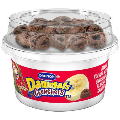 NEW Danimals Crunchables Strawberry W/Honey Graham Cookies 4 Oz 4 PK