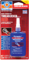 Permatex® 27140 High Strength Carded Threadlocker Red 1.22 Fl Oz Peg