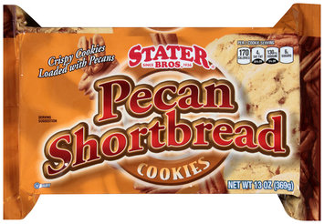 Stater Bros.® Pecan Shortbread Cookies 13 oz. Tray