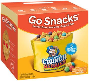 QUAKER CAP'N CRUNCH Go Snacks Crunch Berries 2.4 Oz Box
