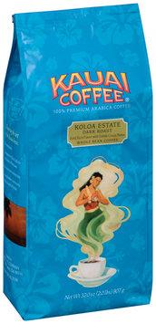 Kauaio Coffee® Koloa Estate Dark Roast Whole Bean Coffee 32.0 oz. Package