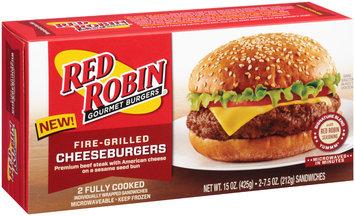 Red Robin® Gourmet Burgers Fire-Grilled Cheeseburgers 15 oz. Box