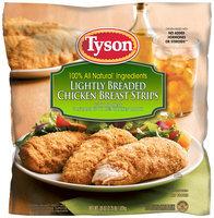 Tyson® Lightly Breaded Chicken Strips 36 oz. Bag
