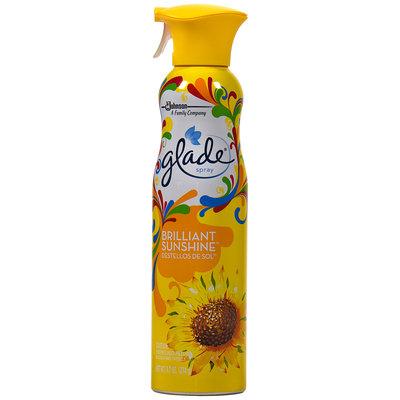Glade® Room Spray Brilliant Sunshine™ Air Freshener 9.7 oz. Aerosol Can