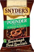 Snyder's Of Hanover The Pounder Sourdough Dark Specials Pretzels
