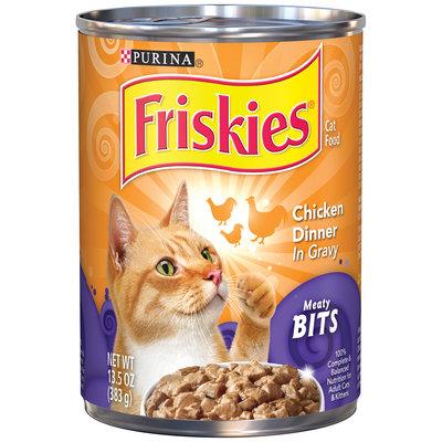 Friskies® Meaty Bits Chicken Dinner in Gravy Cat Food