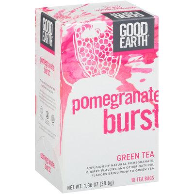 Good Earth® Pomegranate Burst™ Green Tea 18 ct Box