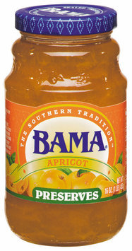 Bama Spreads Apricot, Modified 6/2/07 Preserves 16 Oz Jar