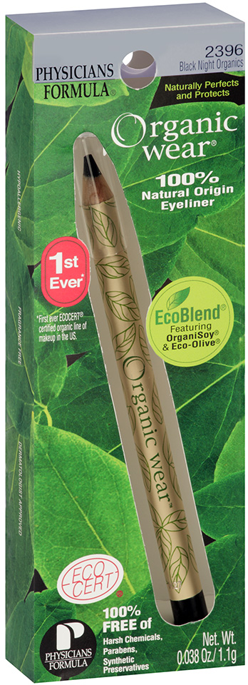 Organic Wear® Black Night Organics Eyeliner 0.038 oz. Package