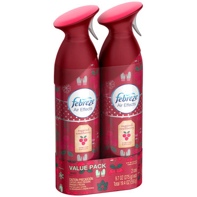 Air Effects Febreze Air Effects Sugared Cranberry Twin Pack Air Freshener (2 Count, 19.4 oz)