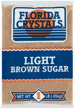 Florida Crystals Light Brown Sugar 1 Lb Bag