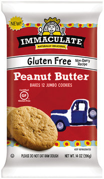 Immaculate® Gluten Free Peanut Butter Cookie Dough 12 ct Pack