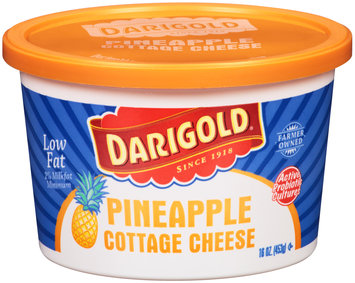 Darigold® Pineapple Low Fat Cottage Cheese 16 oz. Tub