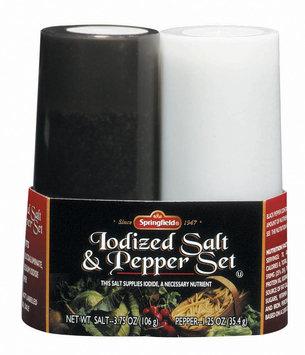 Springfield Iodized  Salt & Pepper Set 1 Ct