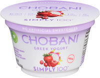 Chobani® Simply 100® Greek Yogurt