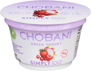 Chobani® Simply 100® Greek Yogurt