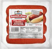 Farmer John® Red Hots Extra Hot Smoked Sausage 14 oz. Pack