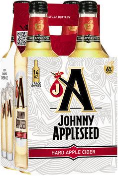 Johnny Appleseed Hard Apple Cider 4-14 fl. oz. Bottles