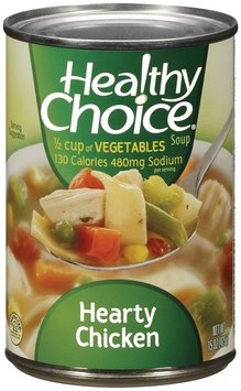 Healthy Choice Hearty Chicken  Soup 15 Oz Can