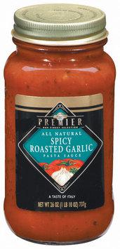 Haggen Premier Spicy Roasted Garlic All Natural Pasta Sauce 26 Oz Jar
