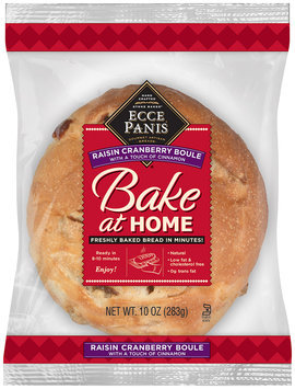 Ecce Panis® Bake at Home Raisin Cranberry Bread 10 oz. Loaf