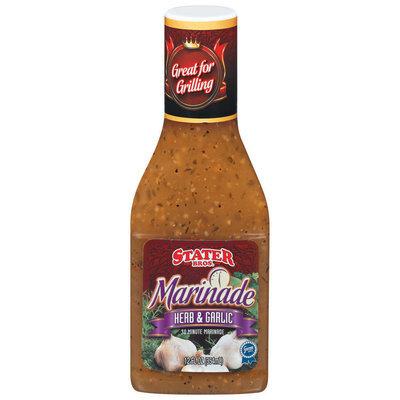 Stater Bros. Herb & Garlic 30 Minute Marinade 12 Fl Oz Plastic Bottle