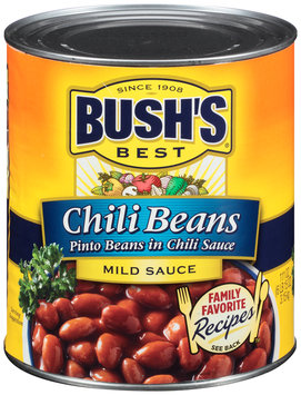 Bush's Best® Chili Beans Pinto Beans in Mild Chili Sauce 111 oz. Can