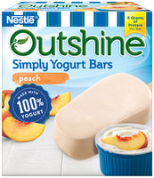 OUTSHINE ® Simply Yogurt Bars, Peach, 4 count