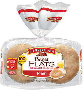 Pepperidge Farm® Plain Bagel Flats 8 ct Tray