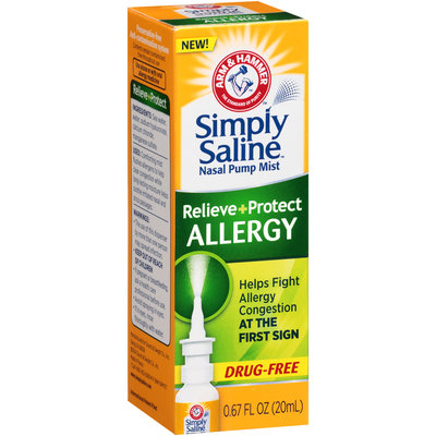 ARM & HAMMER™  Simply Saline™ Allergy Nasal Pump Mist