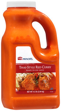 Minor's® Thai-Style Red Curry 4.5 lb. Jug